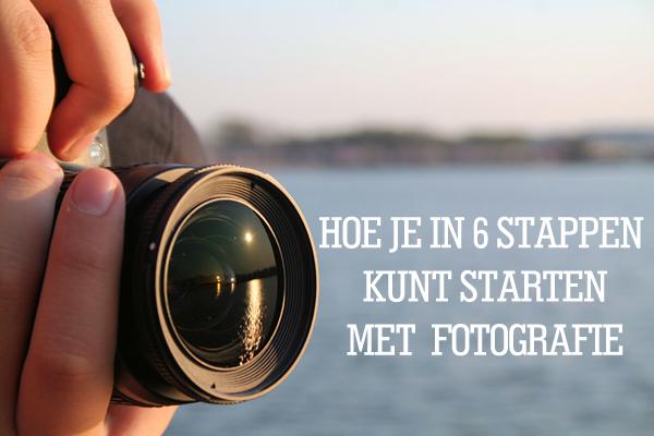 Starten met fotografie