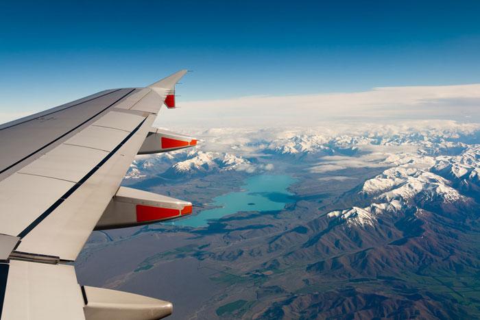 Fotograferen vanuit een vliegtuig